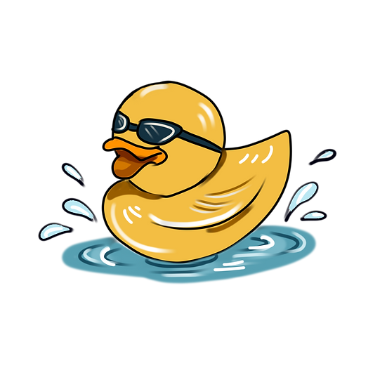 Cool Rubber Duck Clipart - Free PNG Images, Transparent Image Digital Download