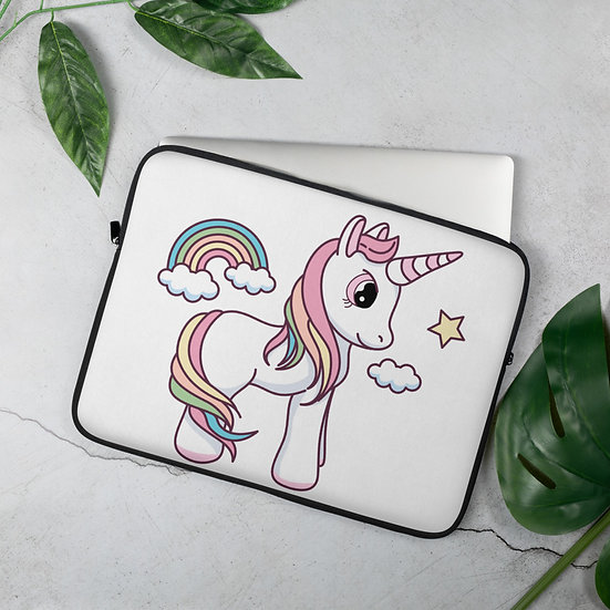 Charming Unicorn Laptop Sleeve for MacBook, HP, ACER, ASUS, Dell, Lenovo