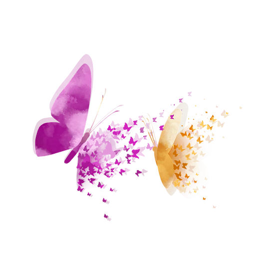 Abstract Butterfly Clipart - Free PNG Images, Transparent Image Digital Download