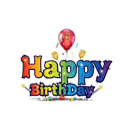 Amazing Birthday Clipart - PNG Transparent Image - Digital Download