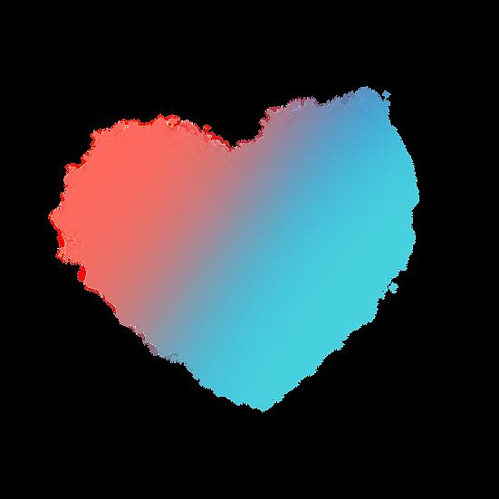 Amazing Smoke Heart - Free PNG Images, Transparent Image Digital Download