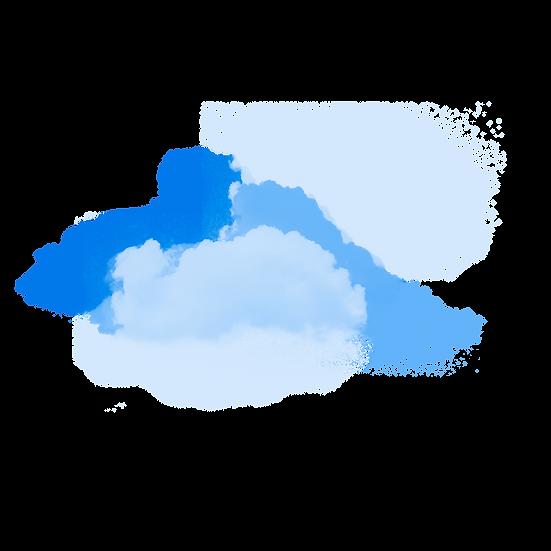 Amazing Clouds Illustration - Free PNG Image, Transparent Image Digital Download