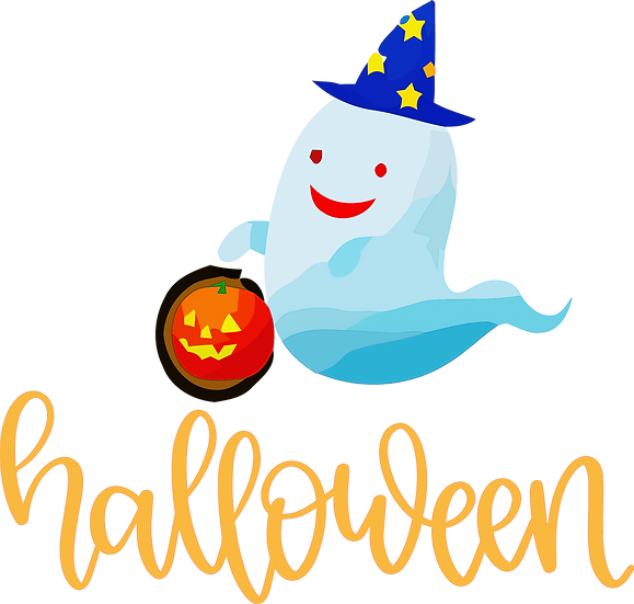 Happy Halloween Ghost Free PNG Images - Free Digital Image Download