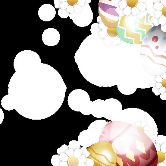 Marvelous Easter Clipart - Easter PNG Transparent Image - Instant Download