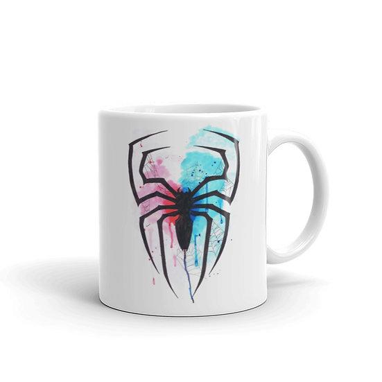 Watercolor Spider Coffee Cup Mug for Coffee / Tea White Ceramic Mugs 11/15 oz1