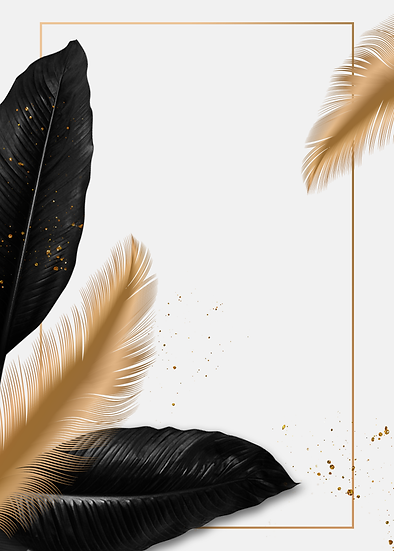 Stylish Background with Feathers - Free PNG Images, Instant Download