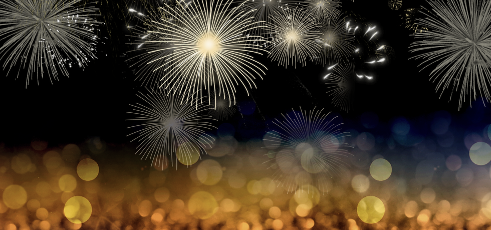 Festive Background with Fireworks - Free PNG Images, Instant Download