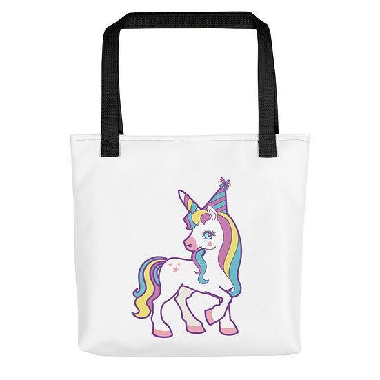 Birthday Party Unicorn Tote bag
