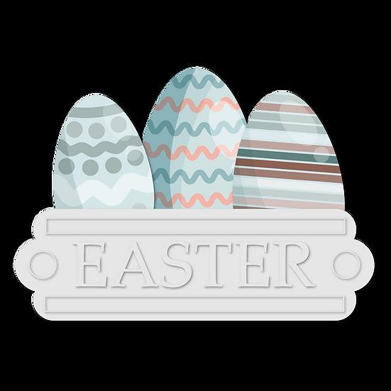 Easter Eggs Fantastic Clipart - Easter PNG Transparent Image - Instant Download