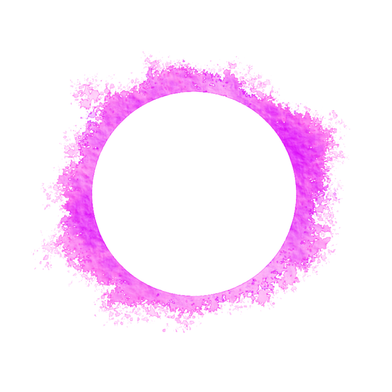 Purple Circle Watercolor Spread - Free PNG Transparent Image, Instant Download