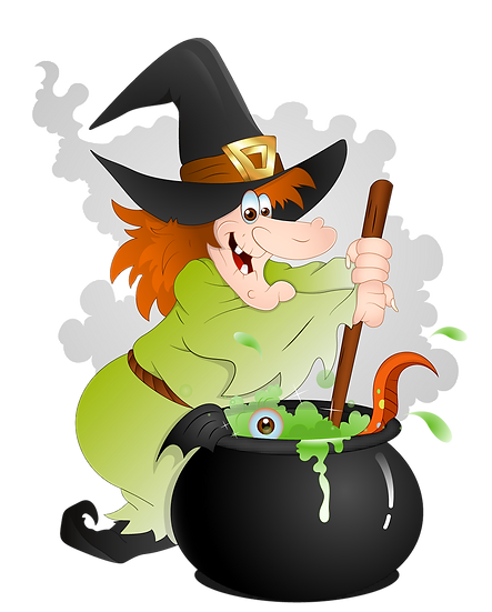 Halloween Cooking Witch Free PNG Images - Free Digital Image Download