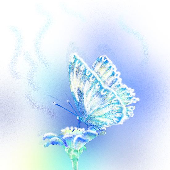 Magical Art with Butterfly - Free PNG Images, Transparent Image Digital Download