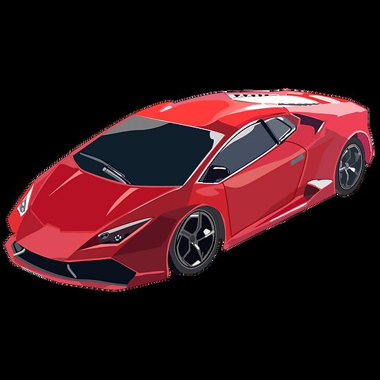 Powerful Sports Car - Free PNG Images, Transparent Image Digital Download