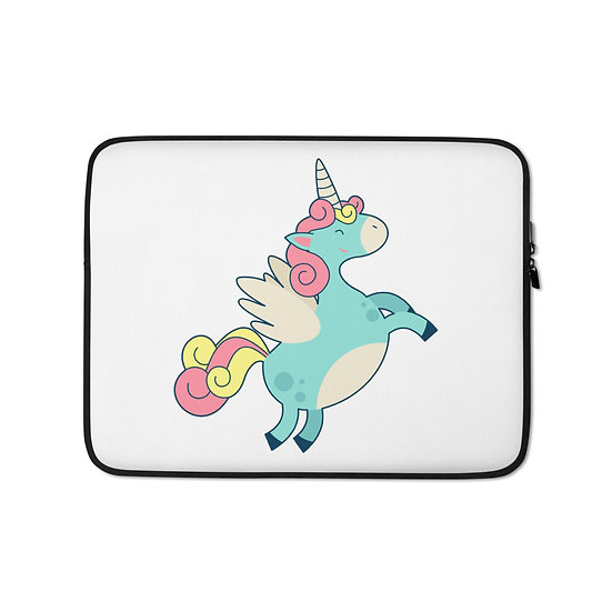 Cute Fat Unicorn Laptop Sleeve for MacBook, HP, ACER, ASUS, Dell, Lenovo