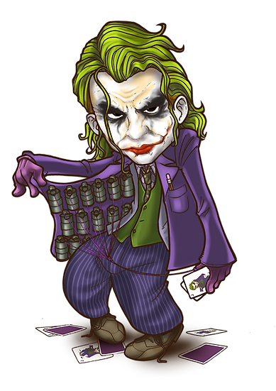 Joker is Ready to Explode Free PNG Images - Free Digital Image Download