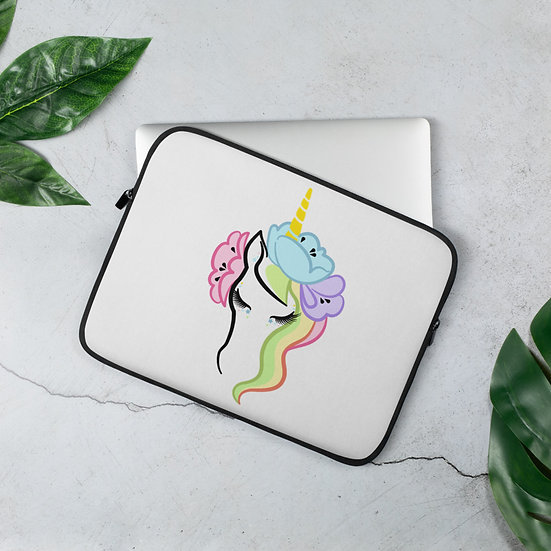 Unicorn Princess Laptop Sleeve for MacBook, HP, ACER, ASUS, Dell, Lenovo