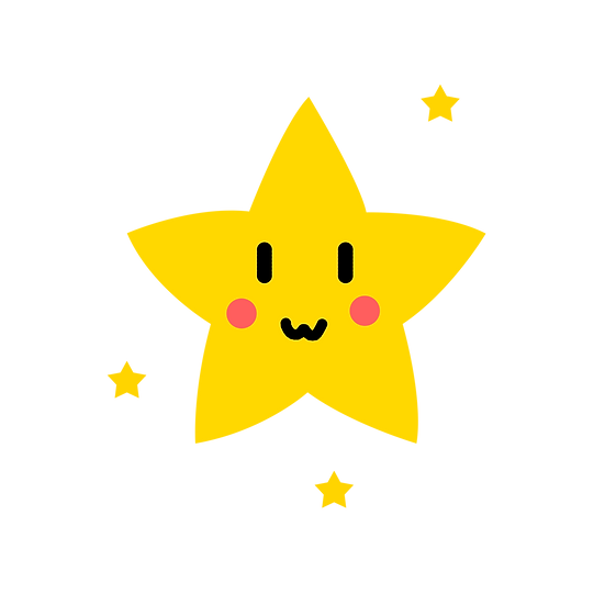 Lovable Stars Clipart - Free PNG Images, Transparent Image Instant Download
