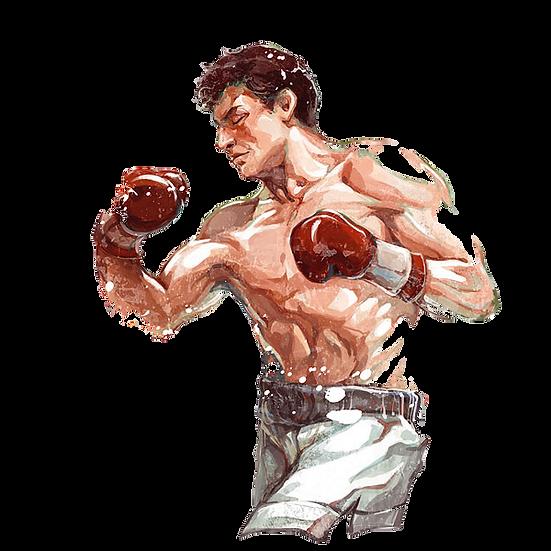 Fighting Boxer Free PNG Images - Free Digital Image Download