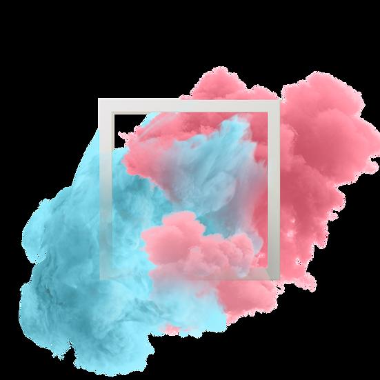 Abstract Pastel Smoke - Free PNG Images, Transparent Image Digital Download