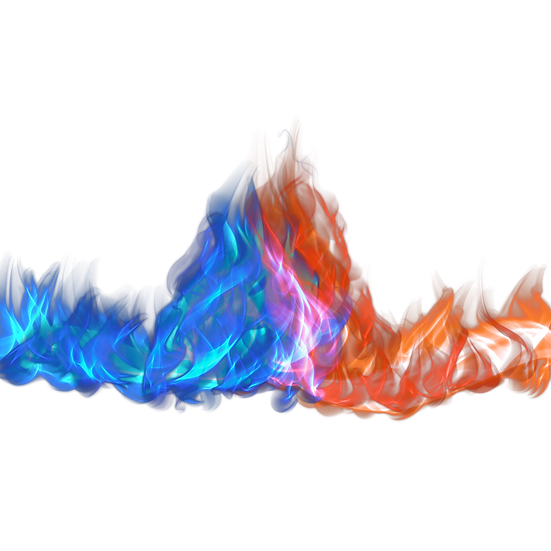 Red and Blue Fire Flame - Free PNGImages, Transparent Image Instant Download