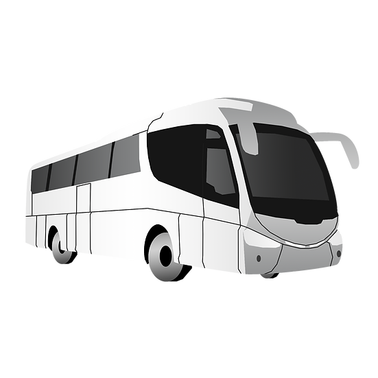 White Bus Clipart - Free PNG Car Images, Transparent Image Instant Download