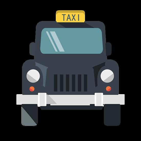 Taxi Cab Clipart - Free PNG Car Images, Transparent Image Digital Download