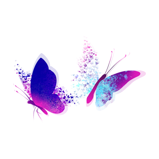 Magic Abstract Butterfly - Free PNG Images, Transparent Image Instant Download