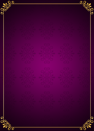 Purple Background with Gold Frame - Free PNG Images, Digital Download