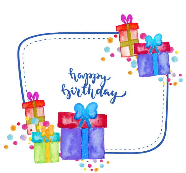 Happy Birthday Awesome Greeting Card - PNG Transparent Image - Digital Download