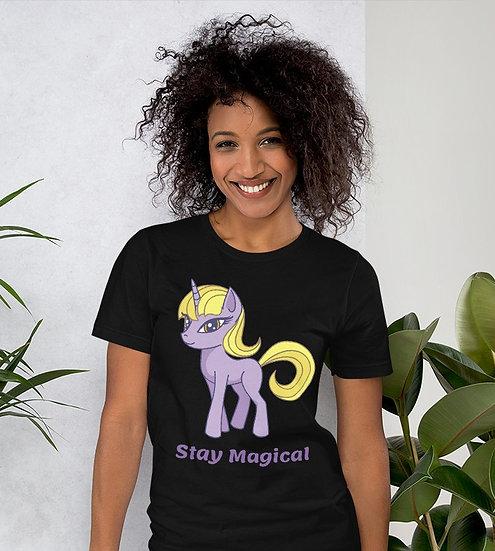 Stay Magical Design Short-Sleeve Women's T-Shirt