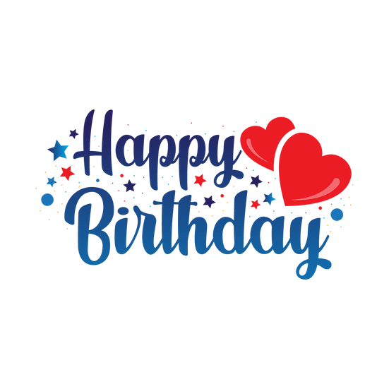 Magical Birthday Clipart - PNG Transparent Image - Digital Download