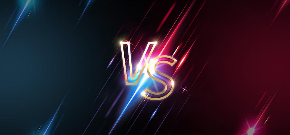 Red VS Blue Background - Free PNG Images, Digital Download
