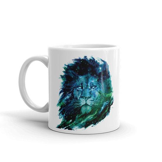 Watercolor Lion Pride Coffee Cup Mug for Coffee / Tea White Ceramic Mugs 1