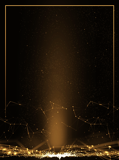 Black Background with Gold Lights - Free PNG Images, Instant Download