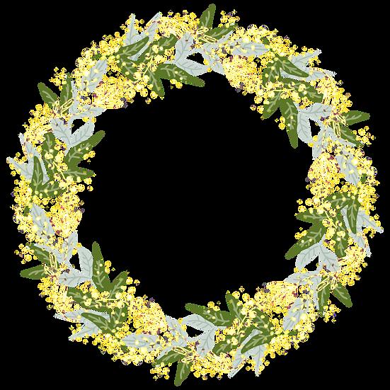Circle of Leaves - Free PNG Images, Transparent Image Digital Download