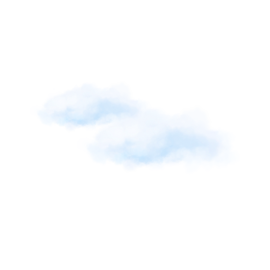 White Cloud Illustration - Free PNG Images, Transparent Image Digital Download