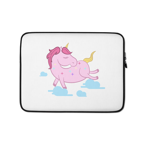 Pink Unicorn Laptop Sleeve for MacBook, HP, ACER, ASUS, Dell, Lenovo