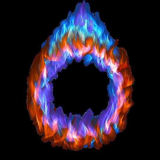 Burning MagicalRing - Free PNG Images, Transparent Image Digital Download