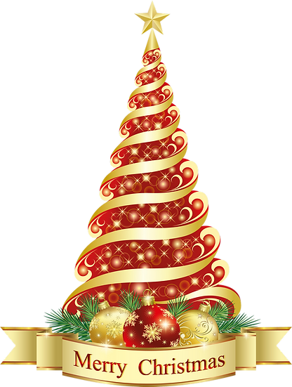 Merry Christmas Tree Free PNG Images - Free Digital Image Download