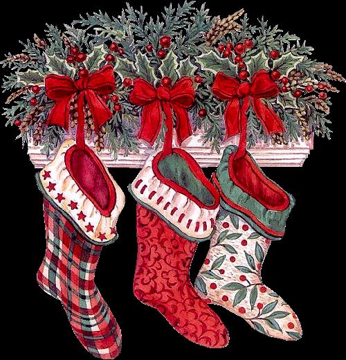 Christmas Stocking Free PNG Images - Free Digital Image Download