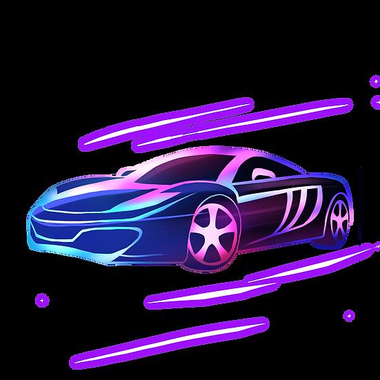 Powerful Racing Car - Free PNG Images, Transparent Image Digital Download