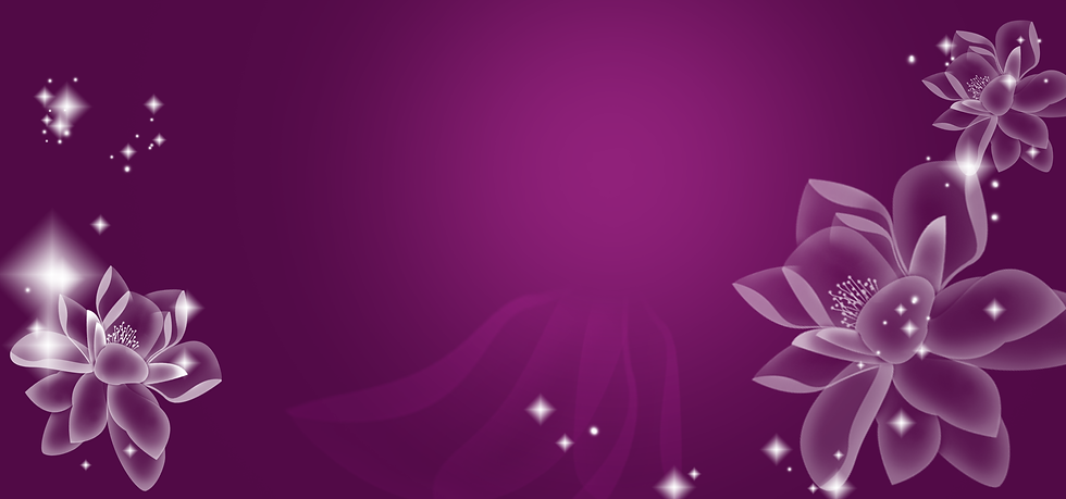 Purple Background with White Flowers - Free PNG Images, Instant Download