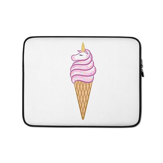 Ice Cream Unicorn Laptop Sleeve for MacBook, HP, ACER, ASUS, Dell, Lenovo