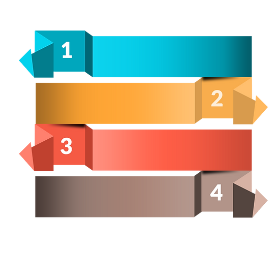 Colorful Infographic Banner - Free PNG Image, Transparent Image Digital Download