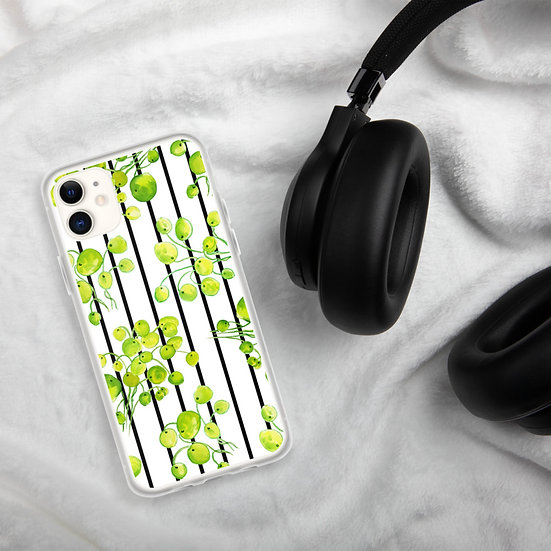 Striped Floral iPhone Cases1