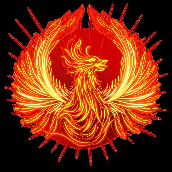 Fire Phoenix Illustration - Free PNG Images, Transparent Image Instant Download