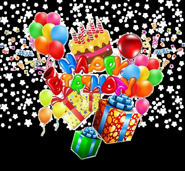 Fantastic Birthday Greeting Card - PNG Transparent Image - Digital Download