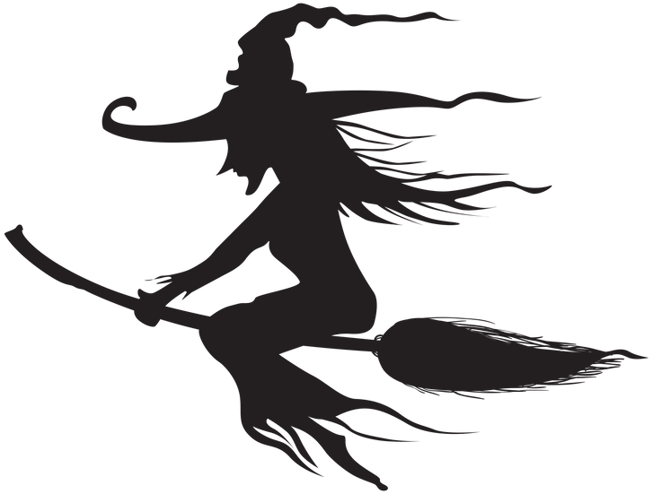 Witch Silhouette Free PNG Images - Free Digital Image Download