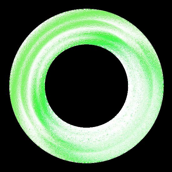 Neon Green Circle - Free PNG Images, Transparent Image Digital Download