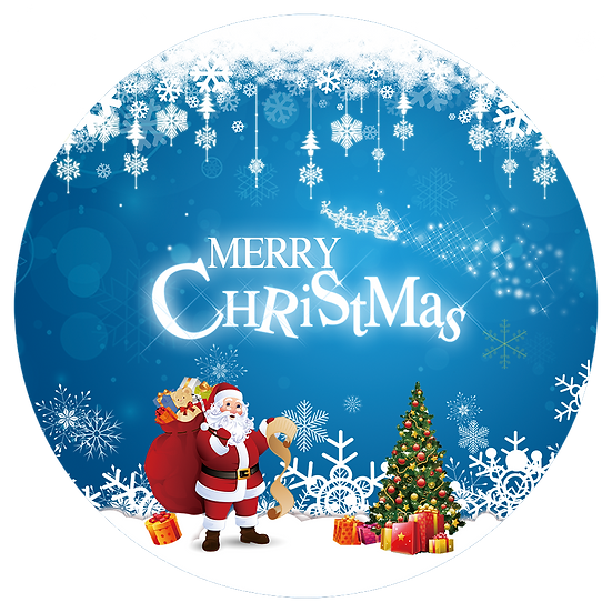 Santa with Christmas Gift List Free PNG Images - Free Digital Image Download